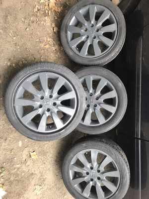"17"" wheels accord for Sale in Providence, RI"