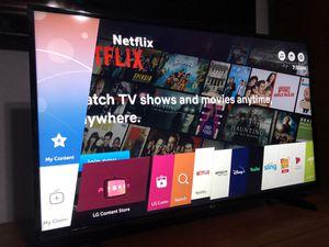 LG 50 inch 4k UHD Smart TV for Sale in Arlington, TX