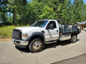 Ford f450 4x4 new Ford crate engine work truck flatbed Construction utility for Sale in Buckley, WA