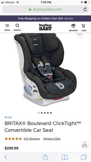 Britax Boulevard Car Seat for Sale in Renton, WA