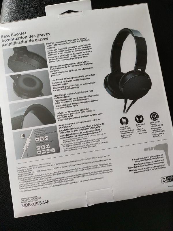 SONY headphones NEW