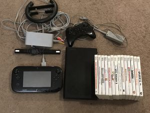 Nintendo Wii U with Games! for Sale in Lancaster, CA