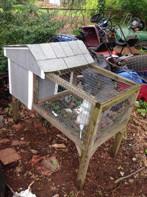 Outside rabbit cage for Sale for sale  Edison, NJ