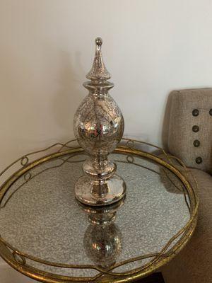 Mercury glass home decor. Table not for sale. for Sale in Atlanta, GA