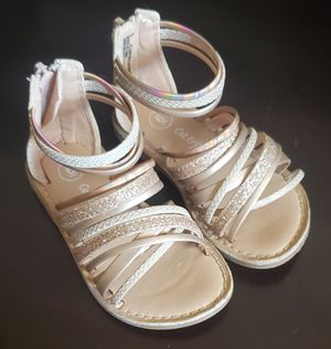 Cat & Jack Toddler Girls' Cami Gladiator Sandals for Sale in New Lenox, IL