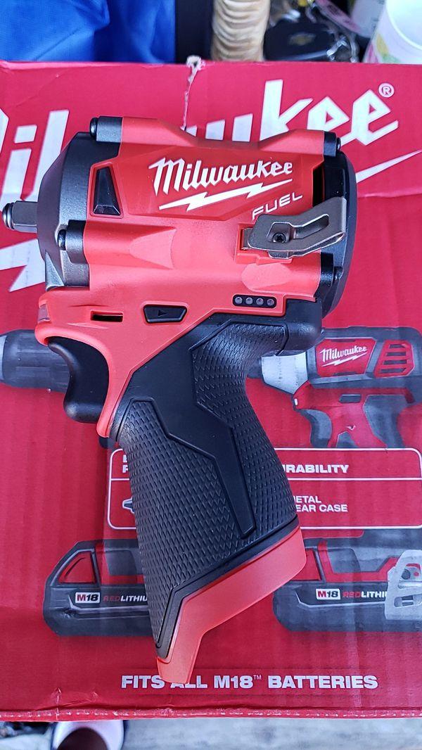 Milwaukee 3/8 friction ring impact wrench
