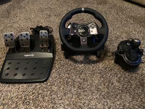 Logitech G920 Racing Wheel Set for Sale in Elk Grove Village, IL