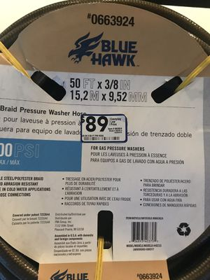 Pressure washer hose 4500 psi for Sale in Murfreesboro, TN