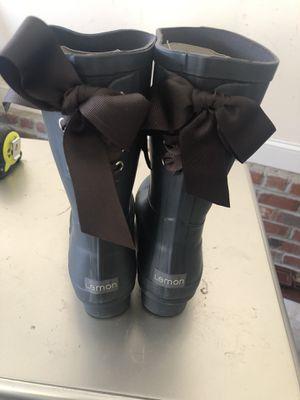Lemon rain boots for Sale in Fayetteville, NC