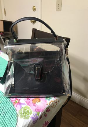 Transparent bag for Sale in North Attleborough, MA