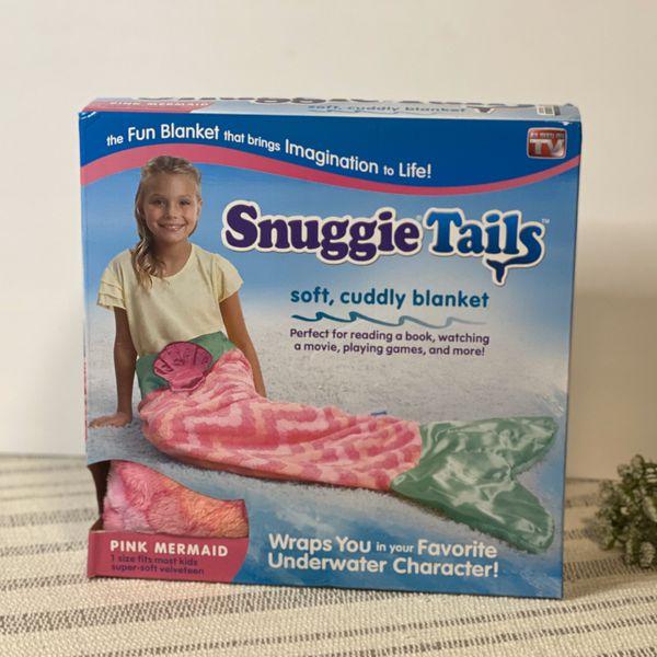 Snuggie tail blanket