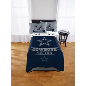 NFL Dallas Cowboys Monument Twin & Full Comforter Set, for Sale in El Monte, CA