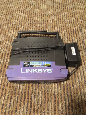 Linksys WRT54GLf Wireless-G 2.4 Ghz Broadband 4PORT DSL Router for Sale in Peoria, IL