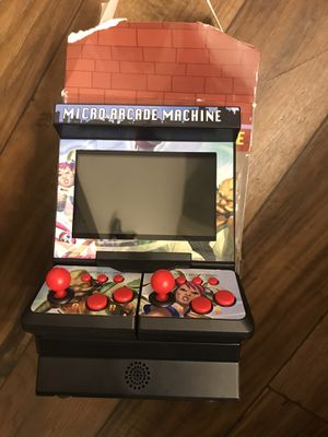 New 8 Bit 4.3 inch Mini Retro Wireless Arcade Double Joysticks Big Screen for Sale in Scottsdale, AZ