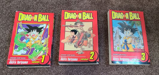 DragonBall Graphic Novels, Vol 1, 2, 3 for Sale in Portland,  OR