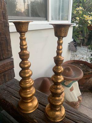 Antique Candelabras Bronze Brass Ornate for Sale in Long Beach, CA