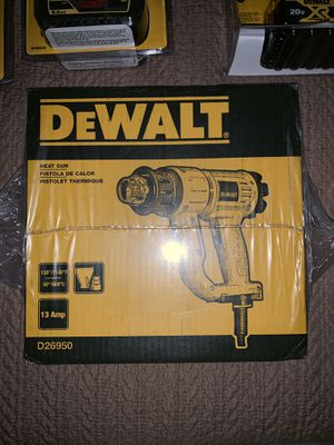 DEWALT SKILL SAW, HEAT GUN, DRYWALL SCREW GUN, AND BRAND NEW 60V/ 20V BATTERIES WITH UNIVERSAL BATTERY CHARGER. WILL SELL AS LOT OR UNIT BY UNIT for Sale in Montgomery, AL