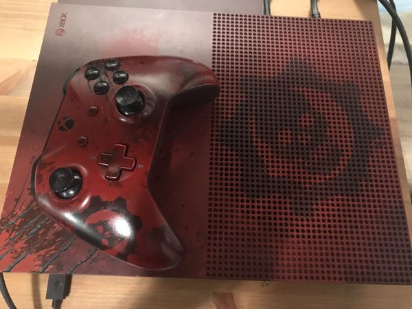Xbox One S 2TB Limited Edition Gears of War