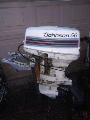 Johnson 50hp outboard for Sale in Burien, WA