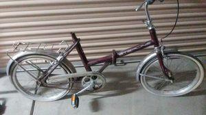 sterling vintage folding bike for Sale in Mesa, AZ