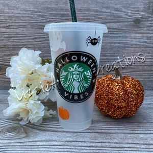 Starbucks Cold Cup | Halloween Vibes for Sale in Schaumburg, IL
