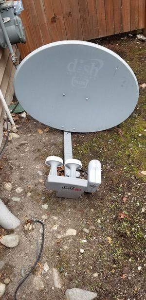 Dish network signal dish receiver for Sale in Auburn, WA