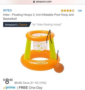 2 BRAND NEW Intex Inflatable Hoop and Basketballs for Sale in Bothell, WA