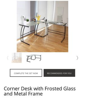 New Glass Office Desk for Sale in Spokane Valley, WA