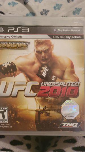 UFC Undisputed 2010 ps3 for Sale in San Bernardino, CA