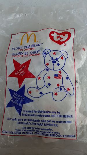 McDonald's exclusive Teenie Beanie Baby/ for employees only for Sale in City of Industry, CA