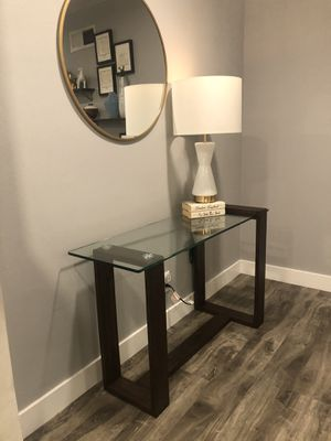 Glass Sofa Console Table for Sale in Lawndale, CA
