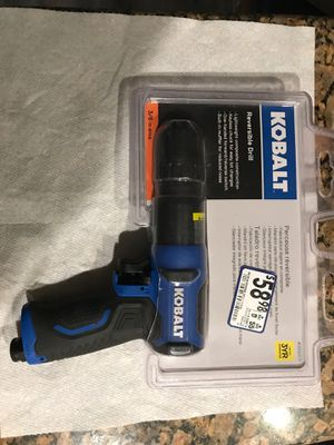 Kobalt Reversible 3/8 drive air drill for Sale in Loxahatchee, FL