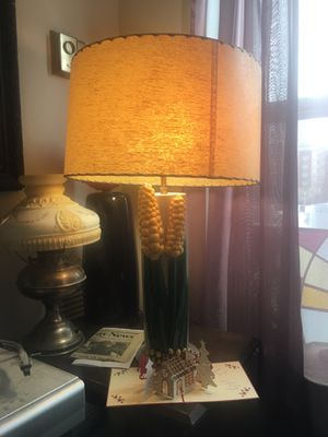 Iowa corn lamp vintage shade for Sale in Boston, MA