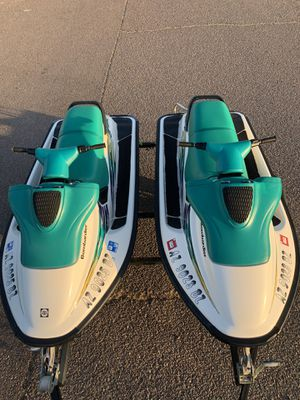 Matching Sea Doo SPX Jet Ski's with Zieman Trailer for Sale in Mesa, AZ