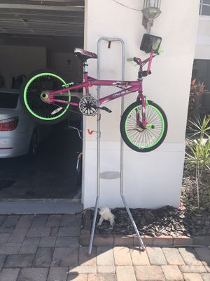 Bike rack. Hold 4. Bike U. Can't install in your garage no need to screw it to the wall It's Sale atAmazon. $80. Only asking $40 for Sale in Tampa, FL