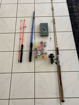 Fishing rods and lures for Sale in Colton, CA