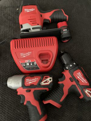 New m12 Milwaukee tools read post for Sale in Los Angeles, CA