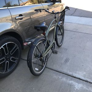 Electra cruiser bike Olive green/black for Sale in Phoenix, AZ
