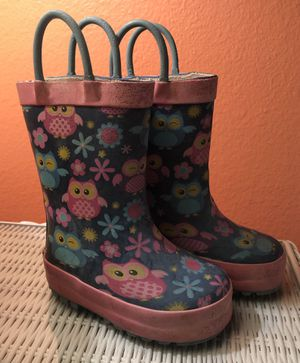 Rain Boots Toddler Girl Size 5 for Sale in Chiriaco Summit, CA