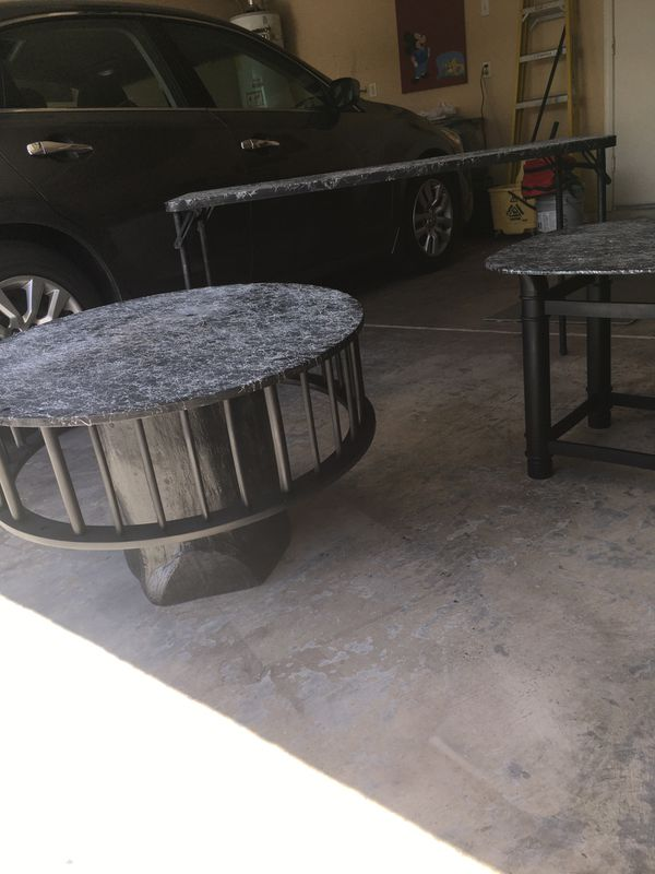 Custom Carousel Table (w/picture)