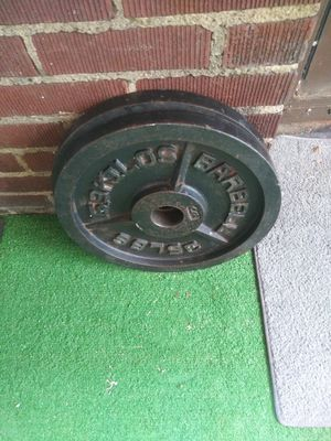 "Cap ""Milled"" Olympic Weights / 2x35 for Sale in Canton, OH"
