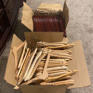 Wooden Hangers-$.50 Each for Sale in Laurel, MD