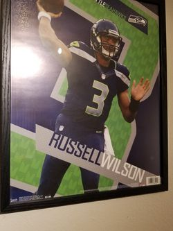 Russell Wilson Picture Frame for Sale in Seattle,  WA