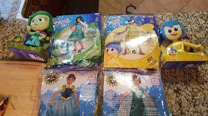 Disney girls costumes size 4-6 for Sale in Virginia Beach, VA
