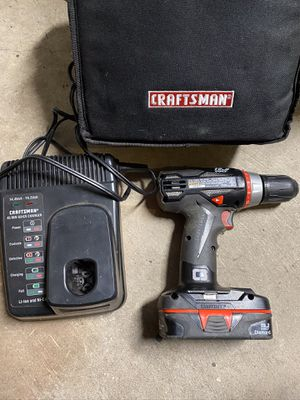 Craftsman 19.2 Volt Drill for Sale in Roy, WA
