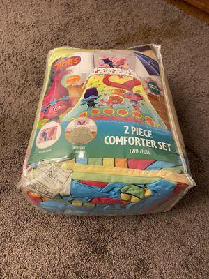 Trolls comforter set for Sale in Nashville, TN