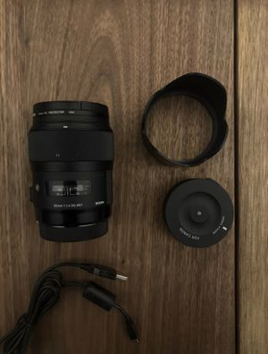 Sigma Art 35mm 1.4 CANON MOUNT for Sale in Portland, OR