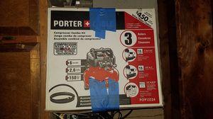Porter cable compressor combo kit pcfp12234 for Sale in San Jose, CA