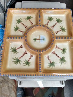 Party platter dish 35 for Sale in Lincoln, CA