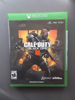 Call of duty black ops 4 $20 firm price for Sale in Houston, TX